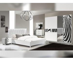 Луксозен спален комплект Savana Zebra