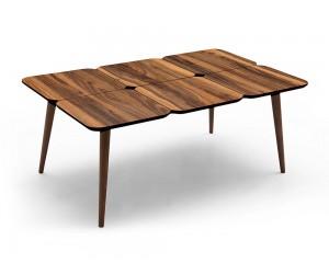 Холна маса Petek - орех