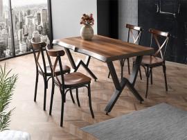 Комплект маса KUTUK 1151 и столове BAHAR 2652