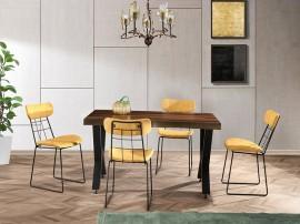 Комплект маса KUTUK 1151 и столове DENIZ 2556