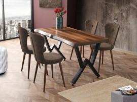 Комплект маса KUTUK 1151 и столове LOREN 2101