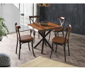 Комплект маса KUTUK 1153 и столове BAHAR 2653