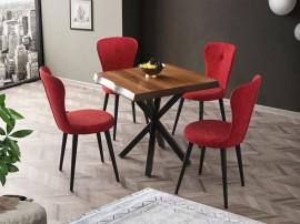 Комплект маса KUTUK 1153 и столове LOREN 2105