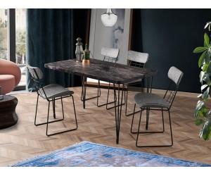 Комплект маса TEL 1166 и столове DENIZ 2559
