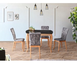 Комплект маса FULYA 1401 и столове DORE 2701
