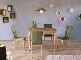 Комплект маса FULYA 1402 и столове DORE 2702