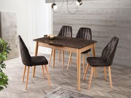 Комплект маса VENUS 1113 и столове DEFNE 2208