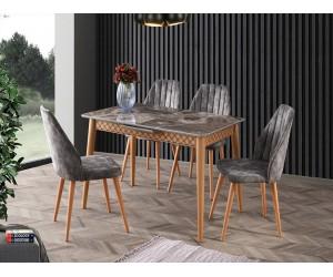 Комплект маса VENUS 1117 и столове DEFNE 2209