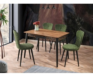 Комплект маса VENUS 1104 и столове LOREN 2103