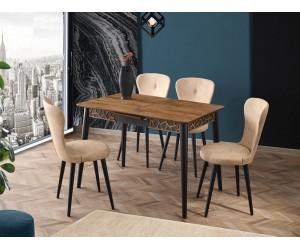 Комплект маса VENUS 1104 и столове LOREN 2136