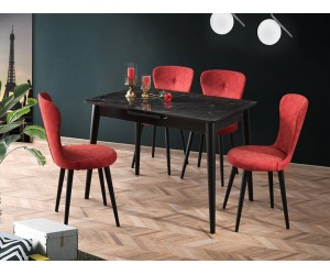 Комплект маса VENUS 1105 и столове LOREN 2105