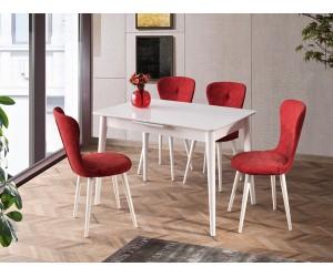 Комплект маса VENUS 1106 и столове LOREN 2109