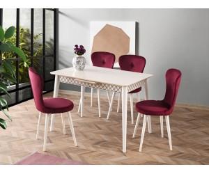 Комплект маса VENUS 1109 и столове LOREN 2114