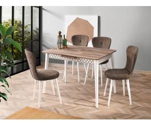 Комплект маса VENUS 1111 и столове LOREN 2116