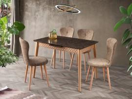 Комплект маса VENUS 1113 и столове LOREN 2118