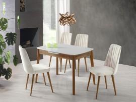 Комплект маса Ece 553 със столове Milano 140
