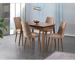 Комплект маса Ece 554 със столове Milano 144
