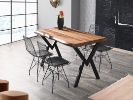 Комплект маса Gala Kutuk 565 със столове Inka 370