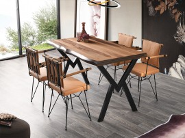 Комплект маса Gala Kutuk 565 със столове Peynez 373