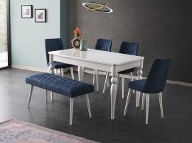 Комплект маса Marino 510 със столове Milano 155 и пейка 195