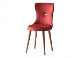 Трапезен стол Ela 363 - Червен