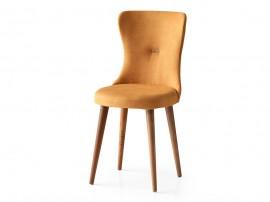 Трапезен стол Ela 364 - Жълт