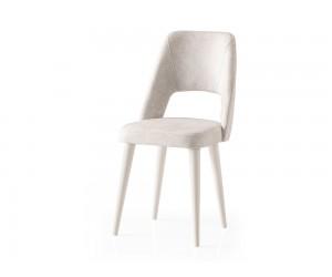 Трапезен стол Mine 085 - Бяло