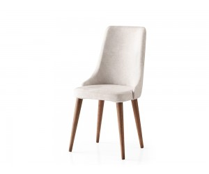 Трапезен стол Sahra 077 - Бял