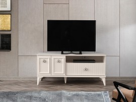ТВ шкаф Leylak 268 - Бял
